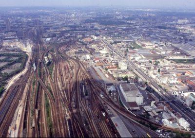 vue générale Sud-Nord