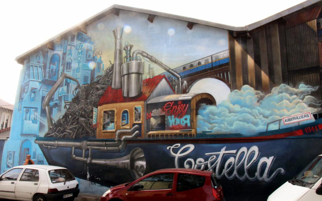 "Street art ""Villes imaginaires"""